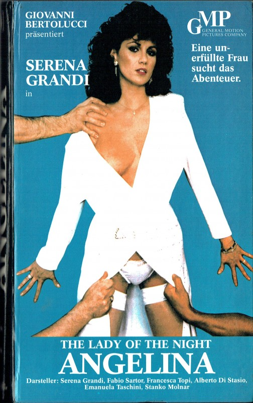 (VHS) Angelina -Von allen begehrt - Serena Grandi (Hartbox)