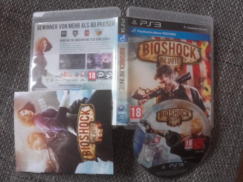 Bioshock Infinite - PS3 - USK18 pegi UNCUT - TOP