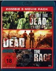 Zombie - 3 Movie Pack - The DEAD - RAGE - Day�s of the end