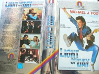 Light of Day ...  Michael J. Fox ...       Hartcover !