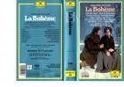 GIACOMO PUCCINI - La Boheme  -VHS kl.Cover