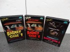 BASKET CASE Teil 1-3 komplett  Starlight VHS Neuwertig