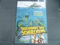TAUCHFAHRT DES SCHRECKENS   - EA ORIG. KINOPLAKAT  A1