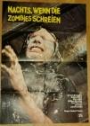 Filmplakat Nachts, wenn die Zombies (Leichen) schreien A1