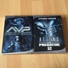 ALIEN VS PREDATOR Teil 1 und Teil 2 auf 5 DVDs ( Century )
