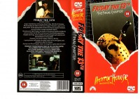 FRIDAY THE 13 TH - T,FINAL C -Ausländisch Horror House- VHS