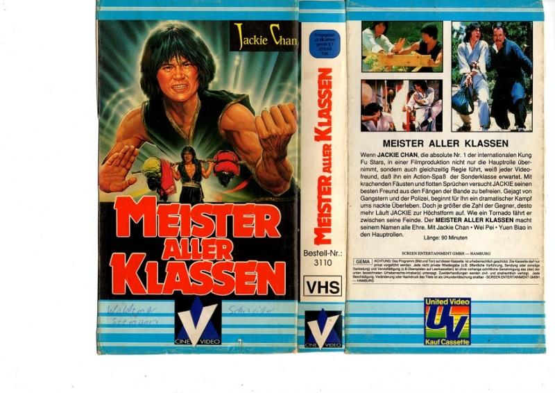 MEISTER ALLER KLASSEN 1 - ohne Film nur Cover !