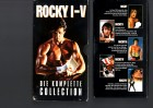 ROCKY I-V - DIE KOMPLETTE COLLECTION - Pappbox - VHS