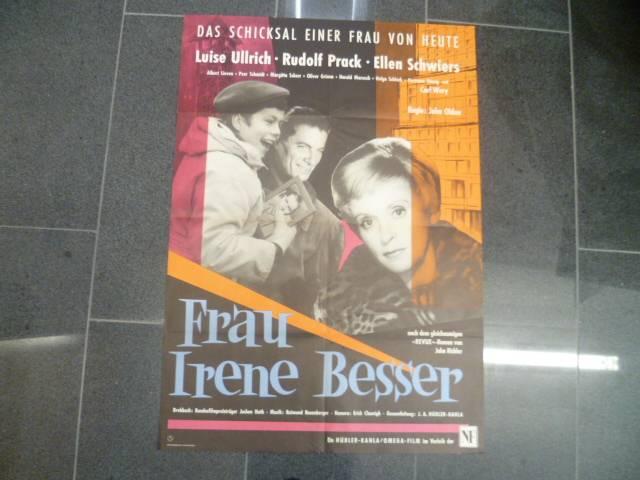 FRAU IRENE BESSER  - EA ORIG. KINOPLAKAT   A1