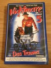 Nightmare On Elm Street Teil 5 VHS von Marketing-Film