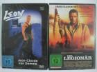 Der Legionär + Leon - Jean Claude van Damme Action Sammlung