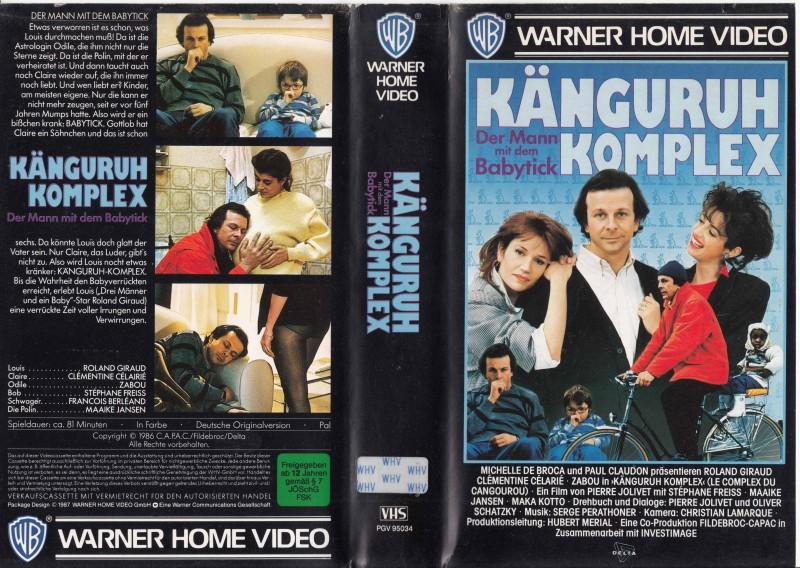 Der Mann mit dem Babytick *1986* Komödie * Popper 80er * VHS