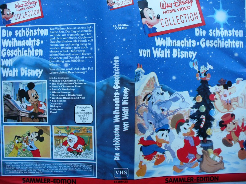 die sch nsten weihnachts geschichten von walt disney. Black Bedroom Furniture Sets. Home Design Ideas