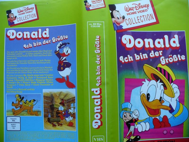 Donald, Ich bin der Größte ...  Walt Disney !!!