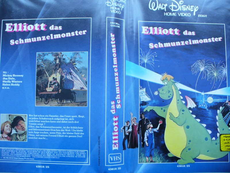 Elliott das Schmunzelmonster ... Walt Disney .. Erstausgabe