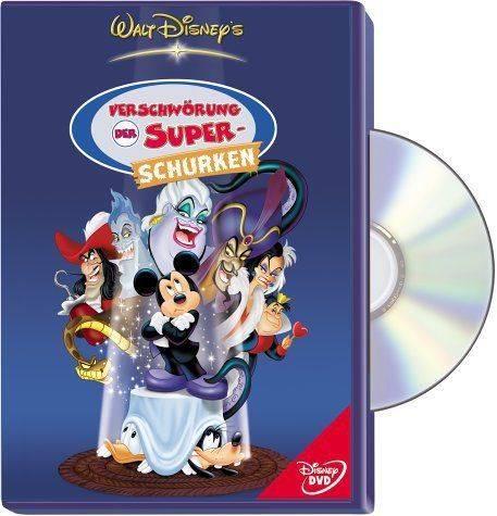 VERSCHWÖRUNG DER SUPER-SCHURKEN (Superschurken) Disney DVD