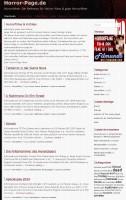 Horror-Fans aufgepasst! Horror-page.de Website, Sammlung €€€