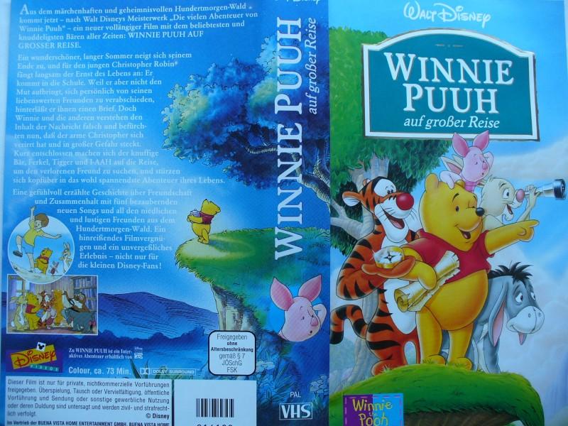 Winnie Puuh auf großer Reise ... Walt Disney !!!