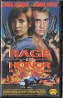 Rage And Honor PAL VHS Arcade (#10)