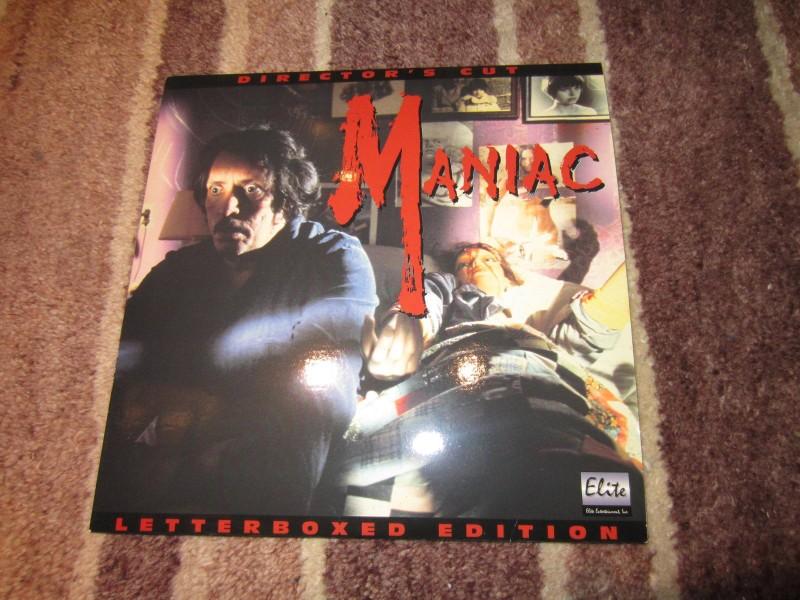 Maniac US-Laserdisc