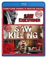 Torture Porn 3 Movie Pack - Uncut [Blu-ray] OVP