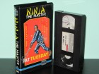 Ninja - The Master * VHS * Fat Tuesday EuroVideo