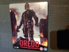 DREDD 3D Inclusive 2D Version -BluRay STEELBOOK- OHNE DT.TON