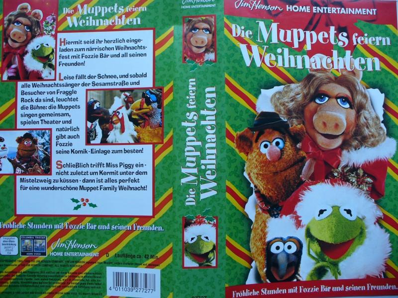 die muppets feiern weihnachten walt disney kaufen. Black Bedroom Furniture Sets. Home Design Ideas