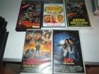VHS - Sammlung - Mike Hunter - Ator - Todeskommando....