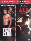 2 Filme Muhammad Ali & Fight Club - Will Smith, Brad Pitt