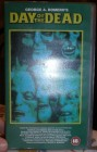 Day of the Dead VHS Englisch und Uncut No Glasbox