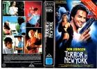TERROR IN NEW YORK - DON JOHNSON - IHE - gr.Cover  VHS
