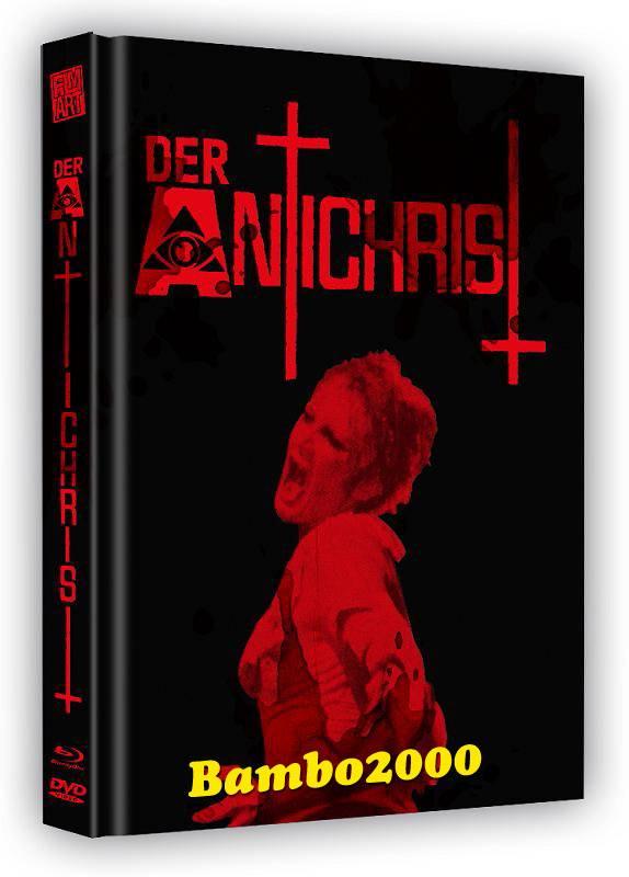 *DER ANTICHRIST *UNCUT* DVD+BLU-RAY MEDIABOOK* NEU/OVP