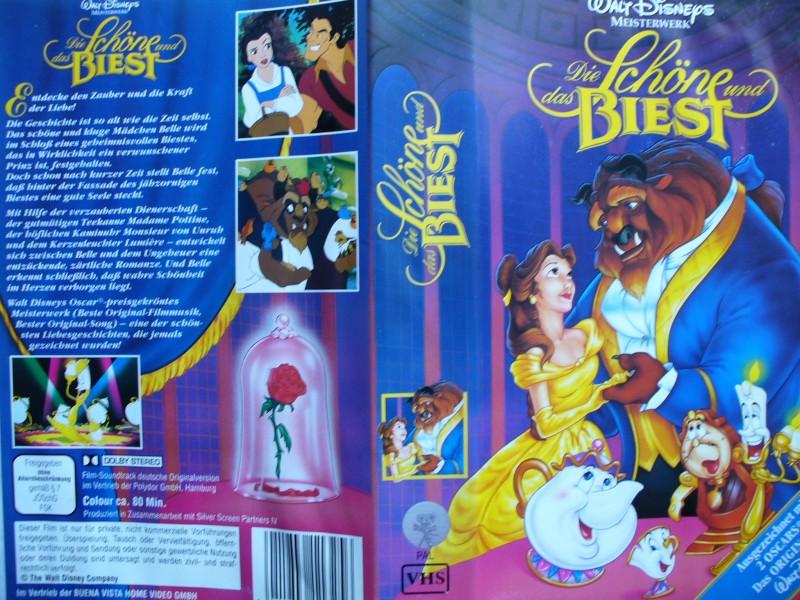 Die Schöne und das Biest ... Walt Disney !!!