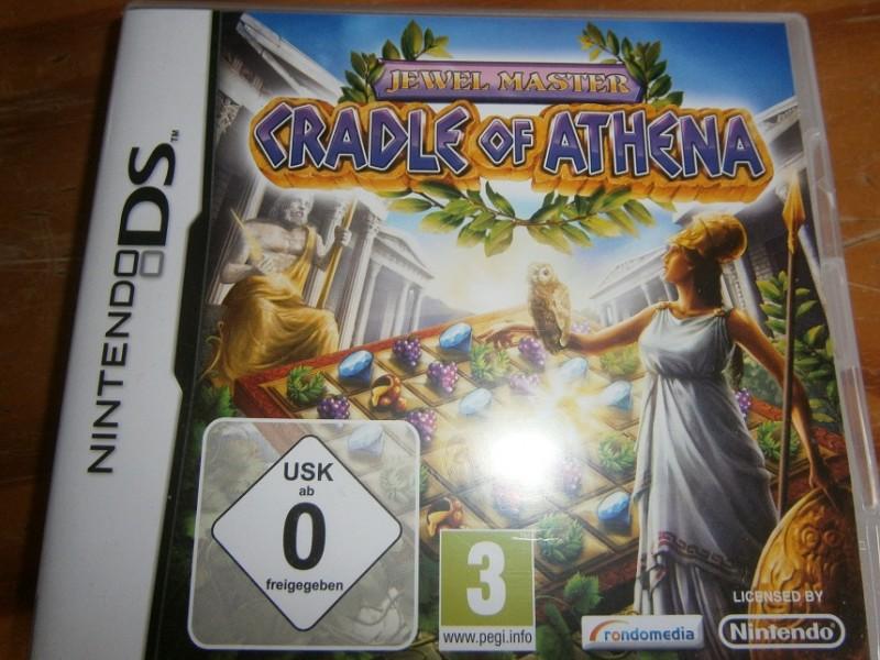 Juwel  Master- Cradle of Athena- Nintendo DS  -