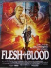 Flesh and Blood (Fleisch und Blut, Rutger Hauer, Poster)