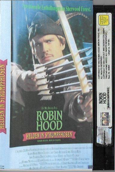 Robin Hood - Helden in Strumpfhosen VHS Columbia (#1)