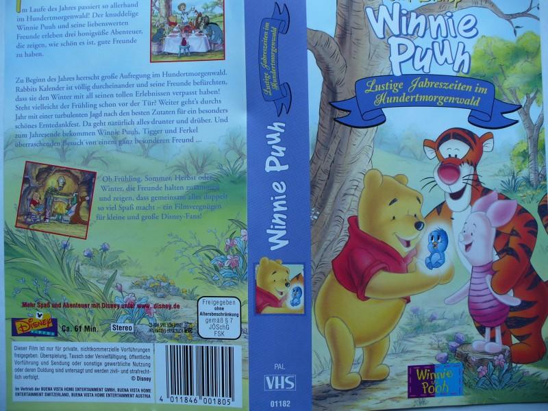 Winnie Puuh -  Lustige Jahreszeiten im Hundertmorgenwald