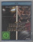 Iron Man + Iron Man 2 - Blu-Ray - neu in Folie - uncut!!