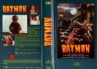 RATMAN , Halb Mensch...Halb Ratte - gr.HB M.T.C. - VHS