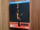 RAMBO II - Steelbook BluRay+DVD Mit Deutschen Ton-NEU/OVP !!