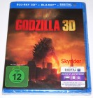 Godzilla 3D Blu-ray - 2 Blu-ray - Neu - OVP - in Folie -