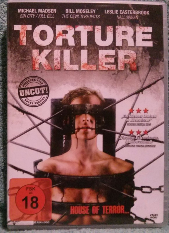 Torture Killer aka House of Terror Michael Madsen Uncut (O)
