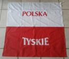 TYSKIE - Fanfahne - POLSKA - POLAND - 86cm x 86 cm OVP