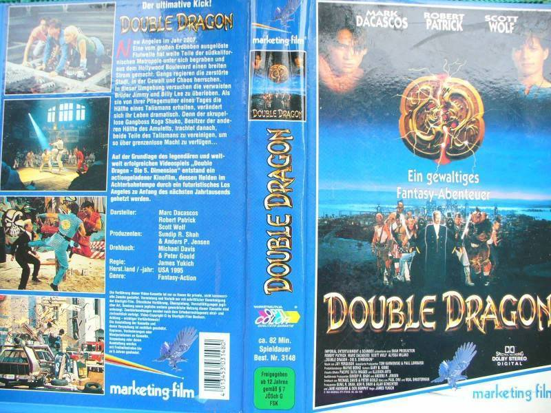 Double Dragon ... Mark Dacascos, Robert Patrick