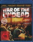 War Of The Undead - Zombie - Dead / Undead (uncut /Blu-ray)