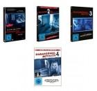 Paranormal Activity 1-4 und Die Gezeichneten DVD Uncut.