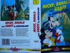 Micky, Donald und Goofy im M�rchenland ... Walt Disney !!