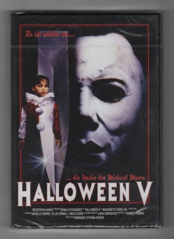 Halloween 5 / Halloween V - neu in Folie - uncut!!