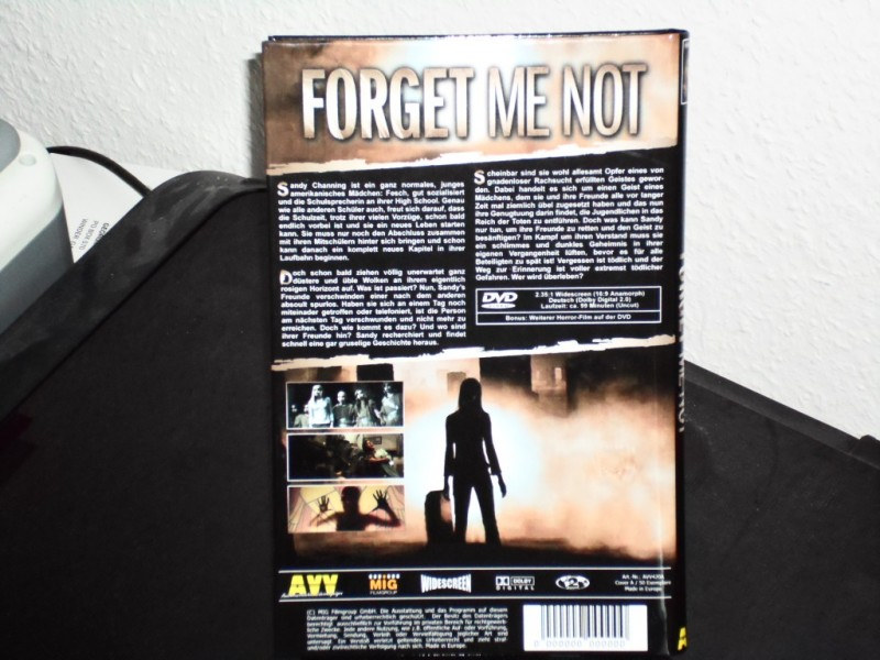 Forget me not - AVV Hartbox